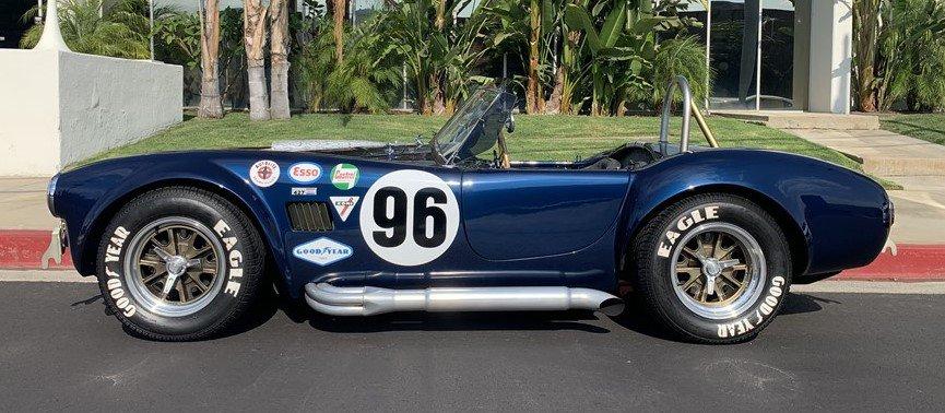 1965 Shelby Cobra S / C kopija