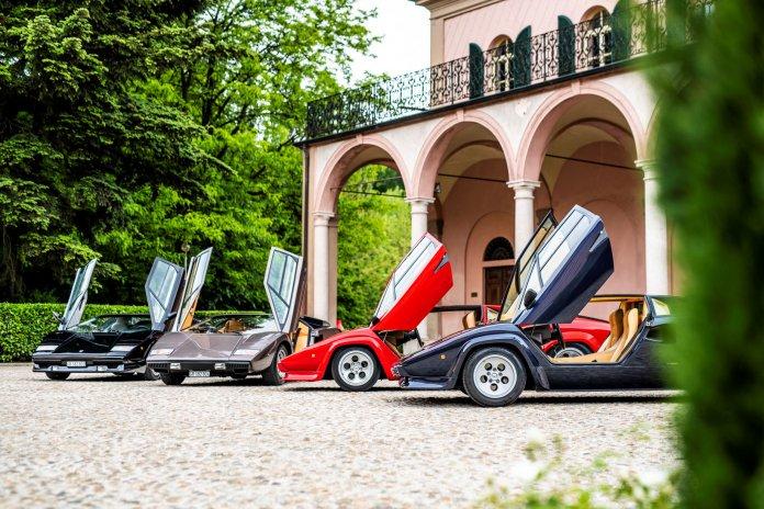 50th anniversary of Lamborghini's Countach | Lamborghini photos