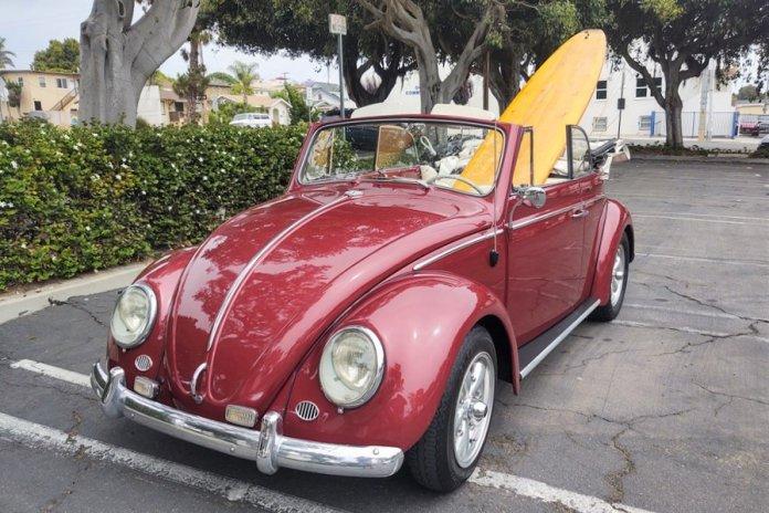 1964 Volkswagen Beetle convertible on AutoHunter