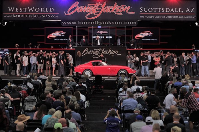 Barrett-Jackson 2021 Scottsdale, Arizona auction   Barrett-Jackson photo
