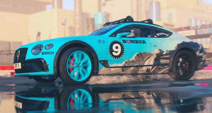 Bentley Continental GT Ice Racer DIRT 5 photos