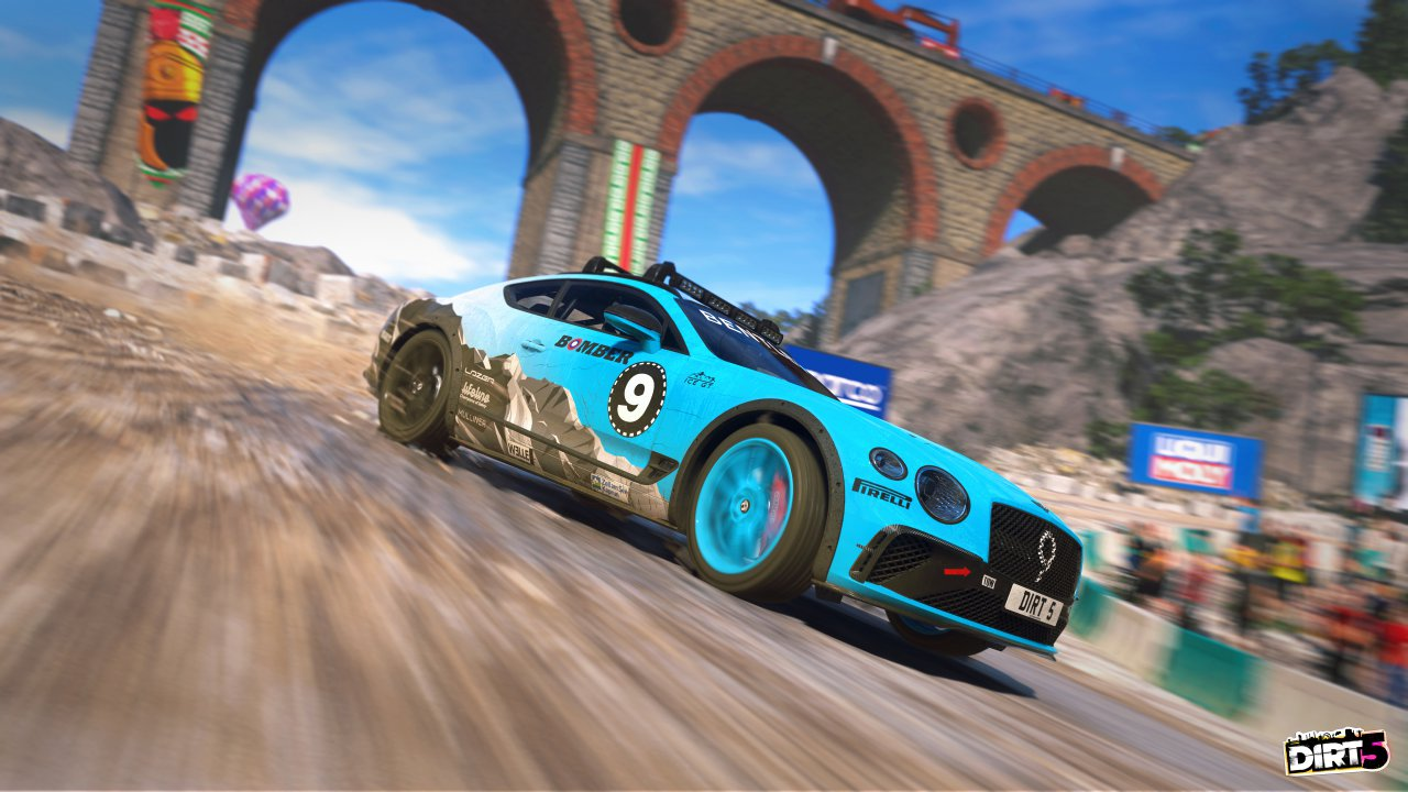 Bentley Continental GT Ice Racer joins DIRT 5 video game's roster