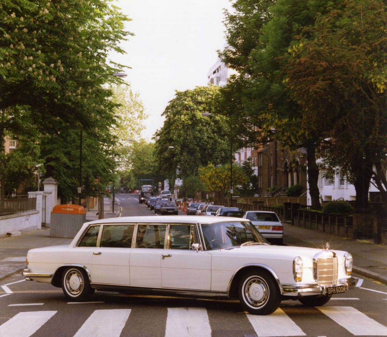 George Harrison's Mercedes-Benz 600 Limo on Abbey Road