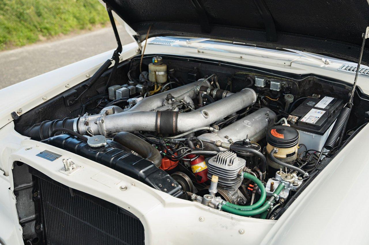 George Harrison's Mercedes-Benz 600 engine
