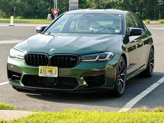 The BMW M5 Competition is agile on country roads, eager to stretch its legs on interstates, and also content with commuting duties | Andy Reid photos