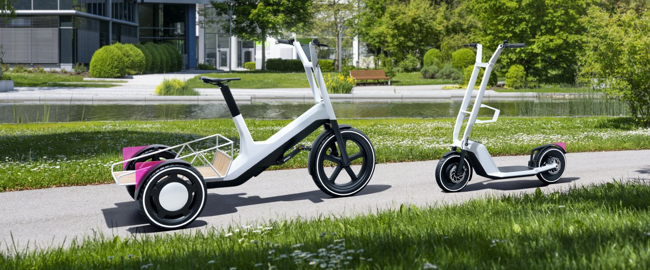 micro mobility, Are a rideable bench, 3-wheel cargo bike in your future?, ClassicCars.com Journal