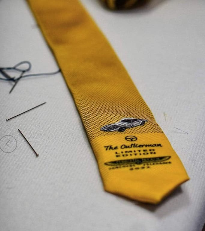 Outlierman, Tie one on with Outlierman's Pebble Beach tie for 2021, ClassicCars.com Journal