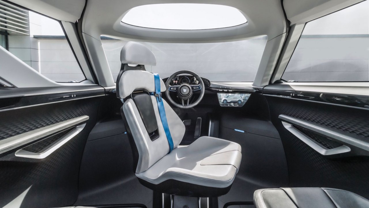 Porsche, Porsche takes us inside its minivan concept, ClassicCars.com Journal