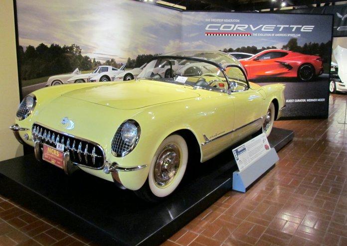 Gilmore Museum Corvette