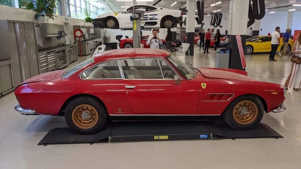 1967 Ferrari 330 GT V12 2+2 shown in Sydney