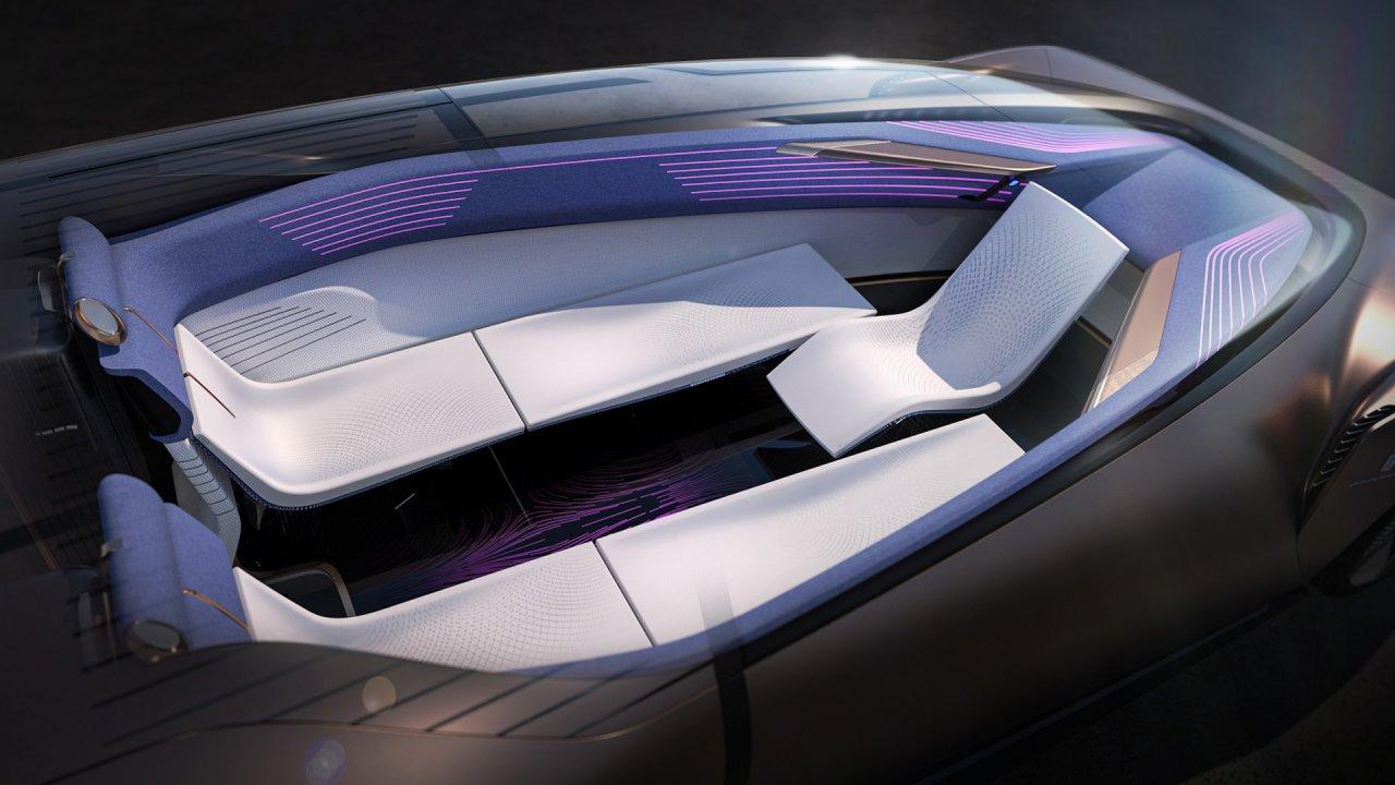 Pininfarina Teorema concept  interior