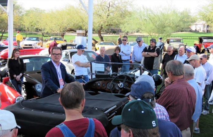 Reid hosting Bonham's auction tour presented by ClassicCars.com