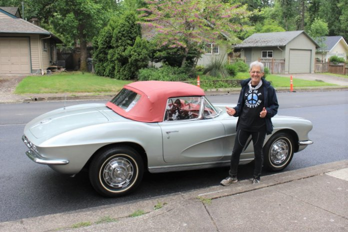 Arnie with his 1962 Corvette