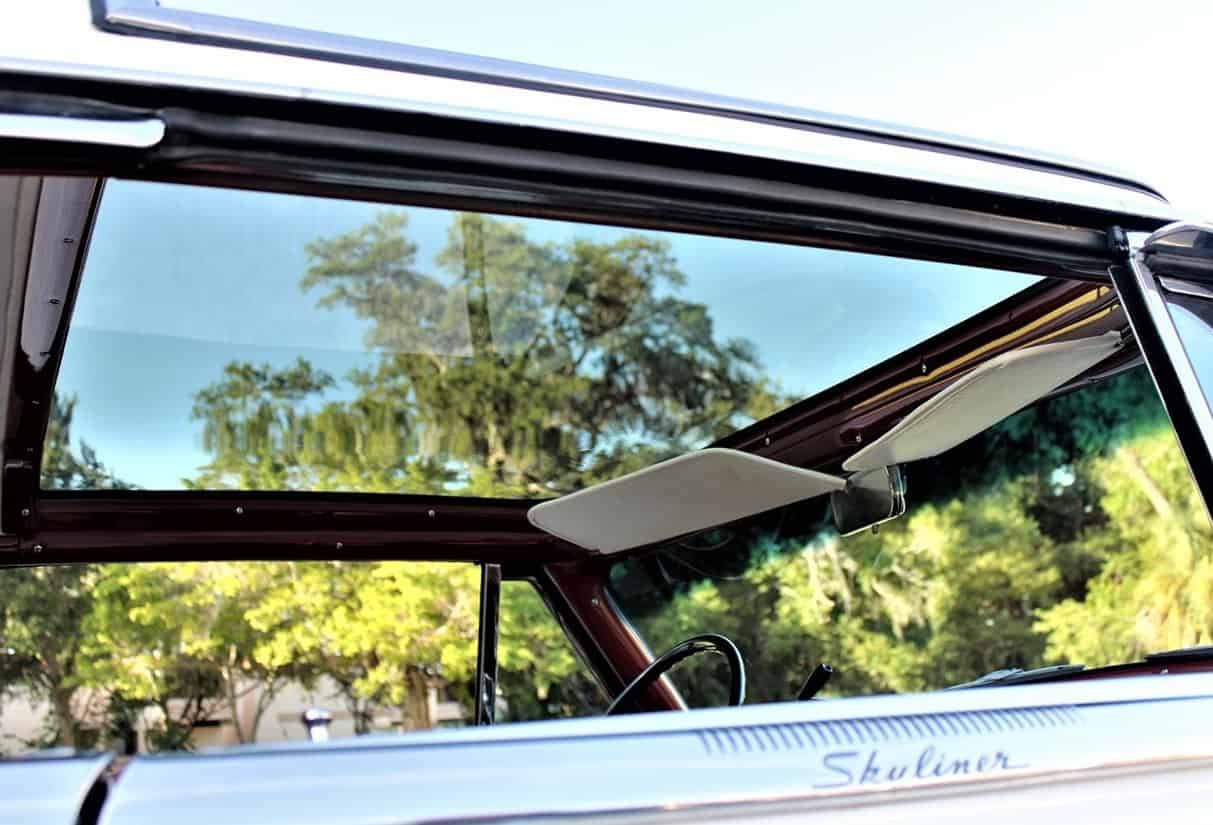 1954 Ford Crestline Skyliner with rare acrylic sunroof