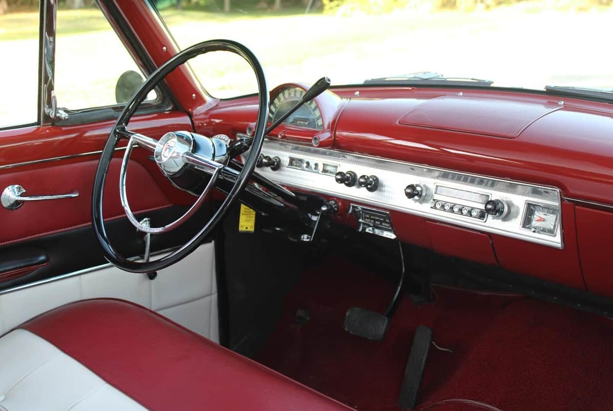 1954 Ford Crestline Skyliner interior
