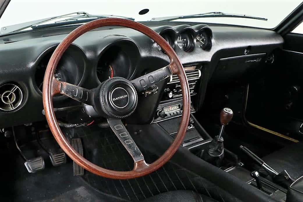 """""""Datsun"""", """"Dienos pasirinkimas"""": 1970 m. """"Datsun 240Z"""" visiškai originalioje, skaičių atitinkančioje būklėje, """"ClassicCars.com"""" žurnalas"""