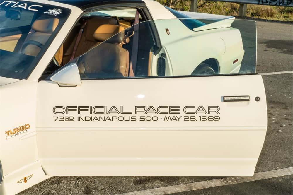 Trans Am, AutoHunter Spotlight: 1989 Pontiac Firebird Turbo Trans Am Indy Pace Car Edition, ClassicCars.com Journal