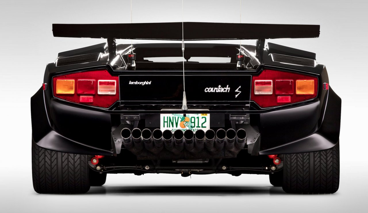 'Cannonball Run' Countach added to National Historic Vehicle Register