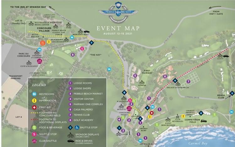 2021 PB site map