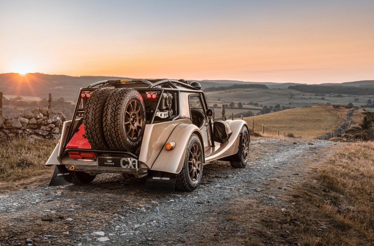 Morgan, Morgan gets into the overlanding spirit with Plus Four CX-T, ClassicCars.com Journal