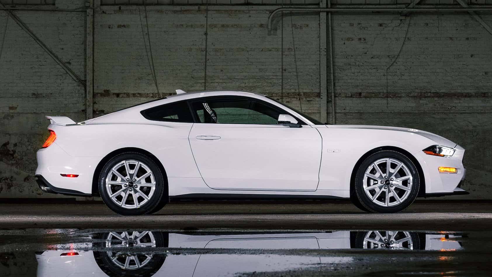 2022 Ford Mustang and Mustang Mach-E get white-on-white styling packs