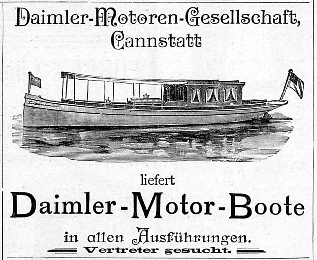 Daimler, Which came first for Daimler: Motorcars or motorboats?, ClassicCars.com Journal