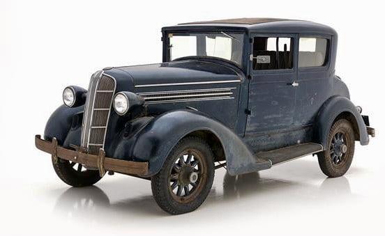 1937 Detroit Electric 99C