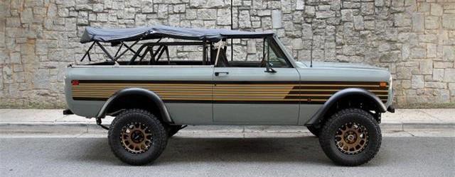 Skautas, dienos pasirinkimas: minkštas viršus 1978 m. Tarptautinis Harvester Scout II, ClassicCars.com žurnalas