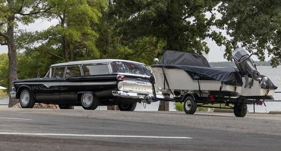 2-for-1 deal includes Edsel wagon, matching 14-foot boat