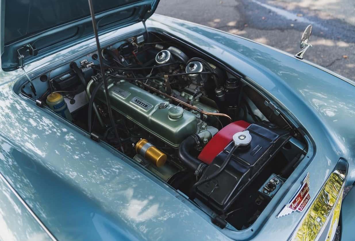 1966 Austin Healey 3000 Mark III engine