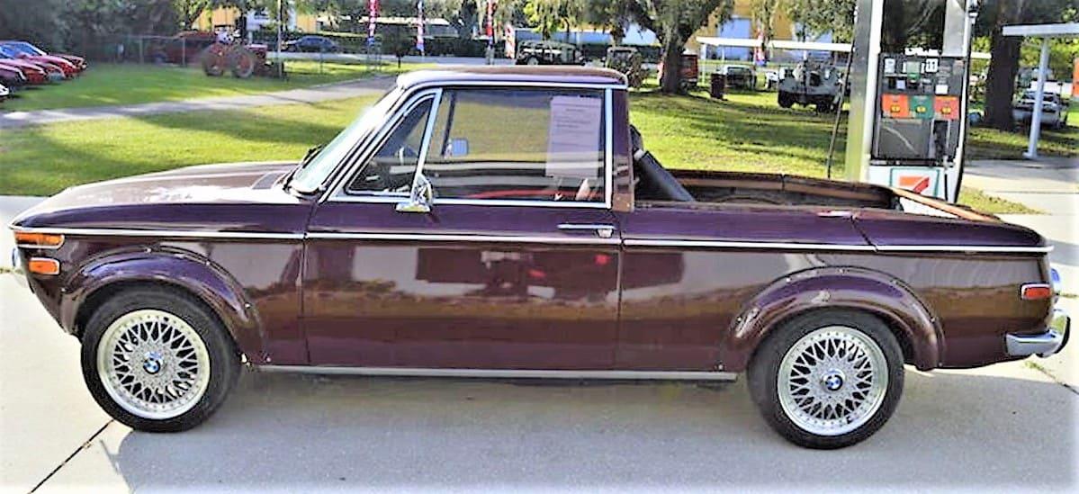 bmw, Dienos pasirinkimas: 1971 m. BMW 1600, kuris buvo paverstas pikapu, ClassicCars.com Journal