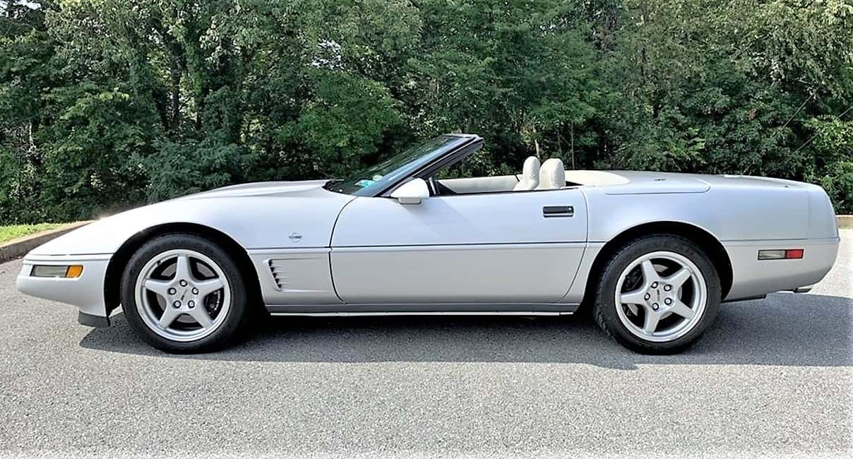 Corvette, Pick of the Day: 1996 Corvette  Collector Edition with low mileage, bargain price, ClassicCars.com Journal