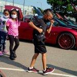 Classic cars elementary school