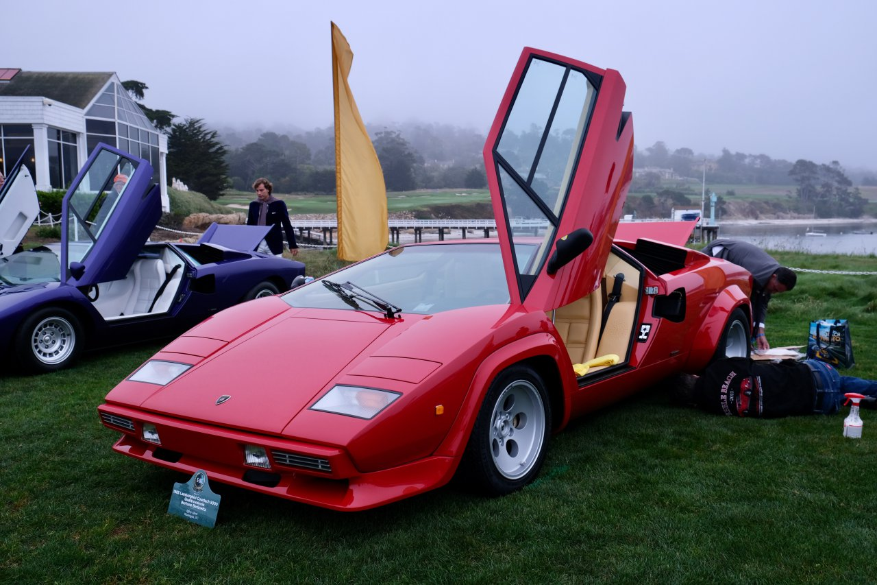 Countach, Did you have a Countach poster on your wall? Pebble Beach had them on the show field, ClassicCars.com Journal