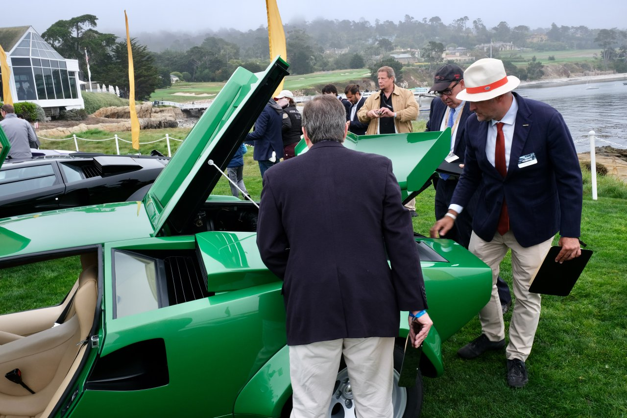 Countach, did you have a Countach poster on your wall?  Pebble Beach had them on the showground, ClassicCars.com Journal