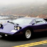 Lamborghini Countach mist