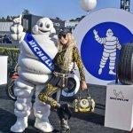 Michelin Man & Dea Wilson (Pres Ferrari Club) #7136-Howard Koby photo