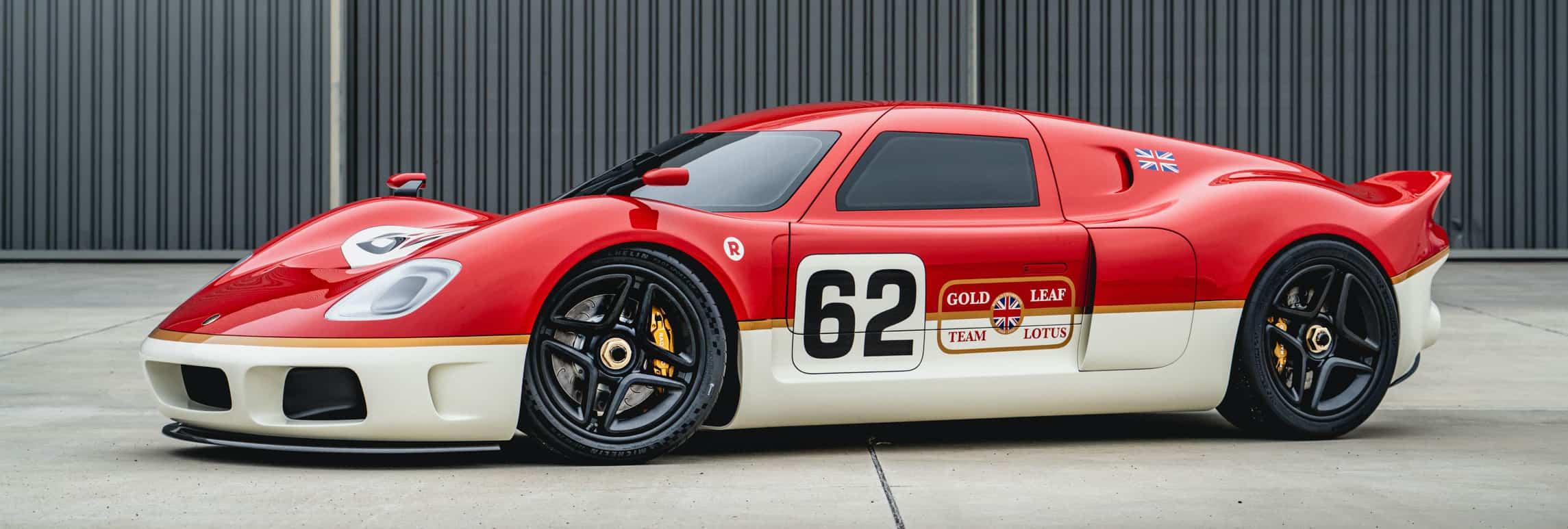 Radford, Radford unveils its version of the Lotus Type 62, ClassicCars.com Journal