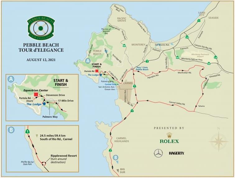 PB tour map 2021