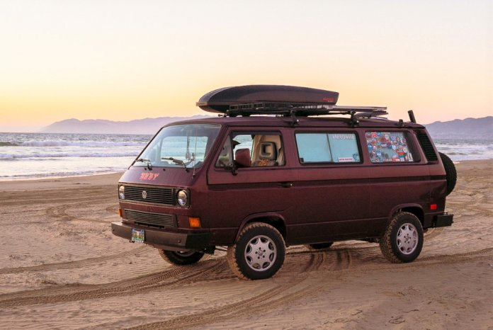 Woodward's VW Vanagon named Ruby | Willie Woodward photos