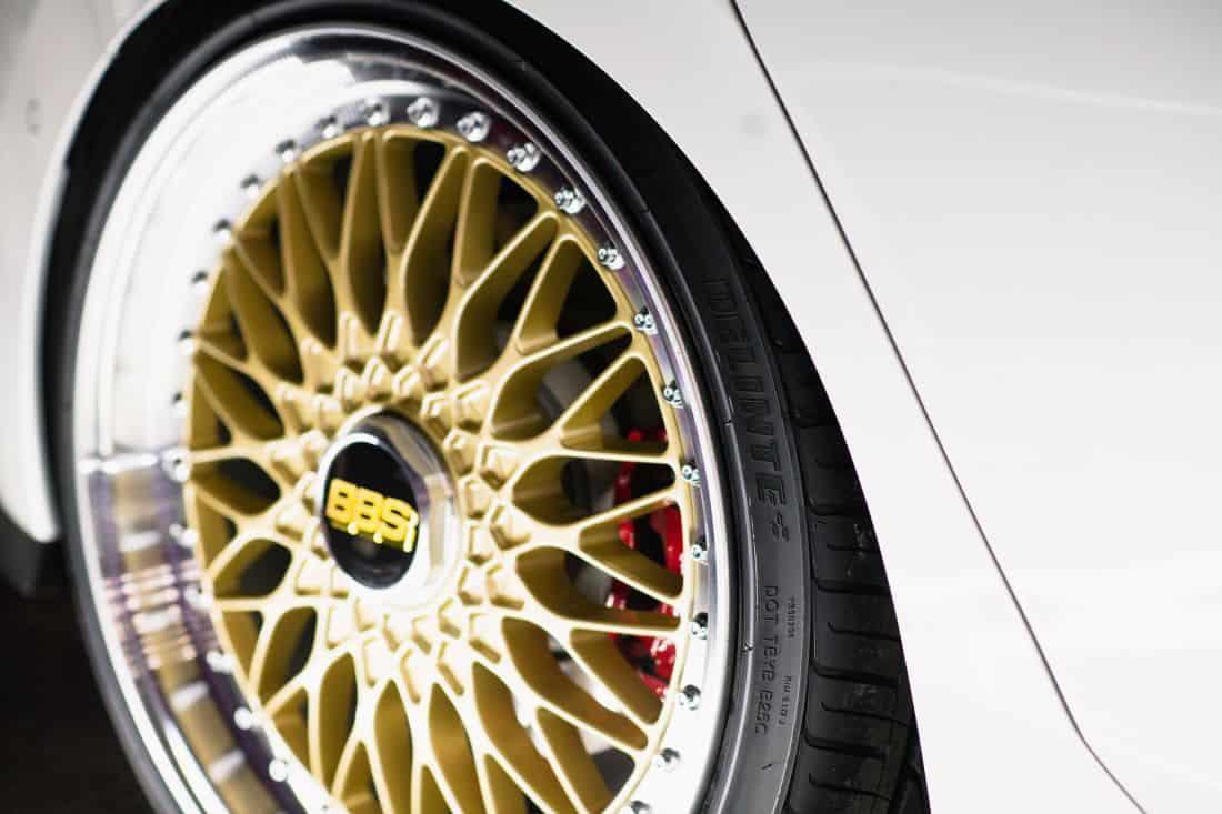 Volkswagen Golf GTI BBS concept  wheels