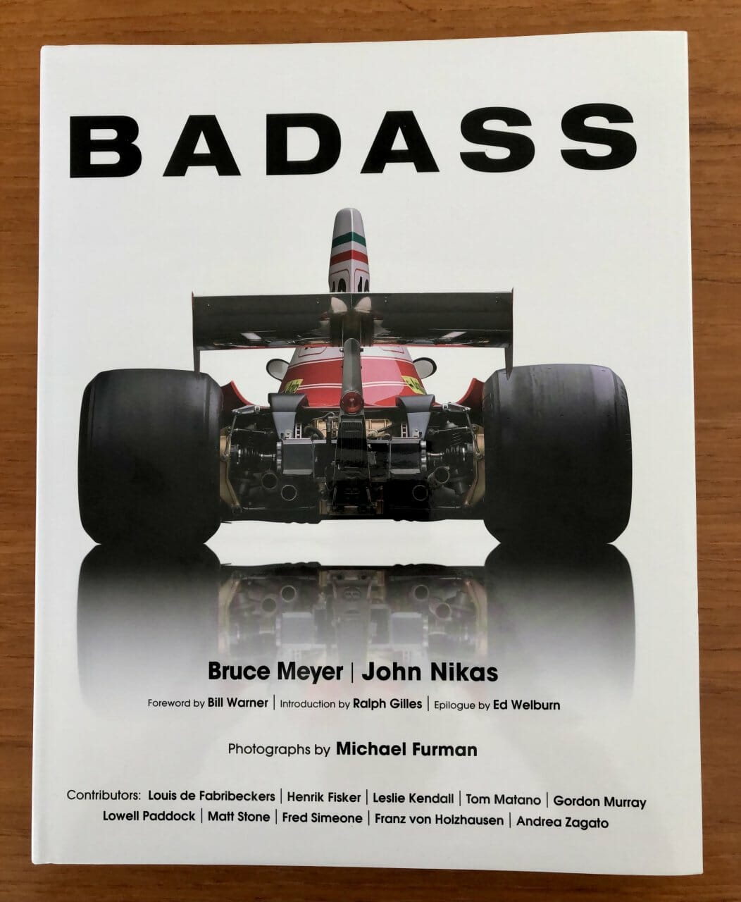 Backside beauties: Book focuses on automotive rear ends
