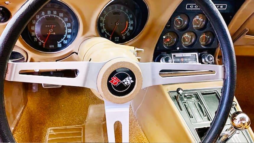 1969 Corvette Stingray interior