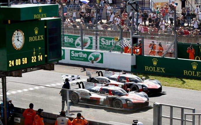 2021 Le Mans 24 finish