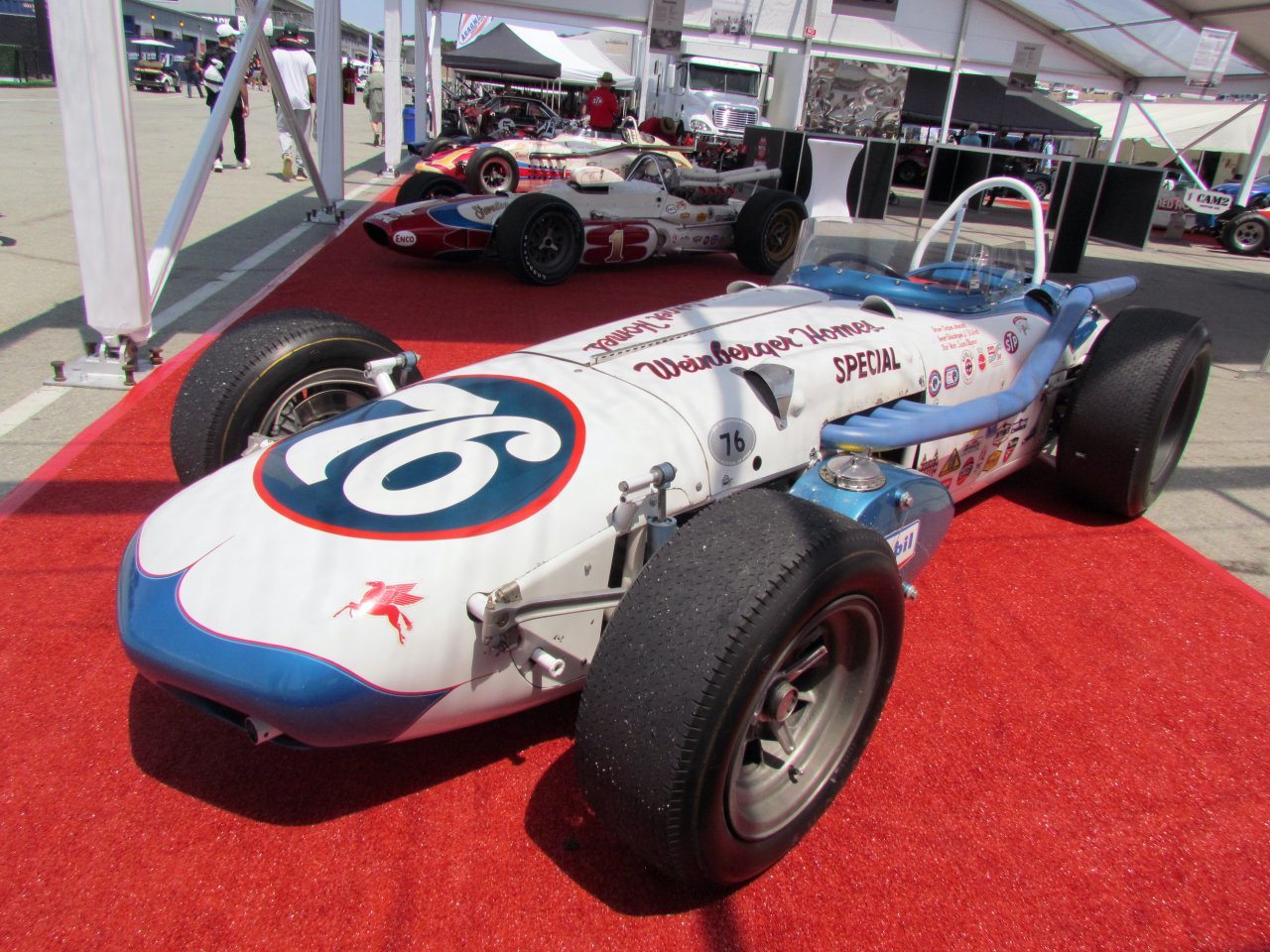Indy cars, Vintage Indy cars display variety at Monterey, ClassicCars.com Journal