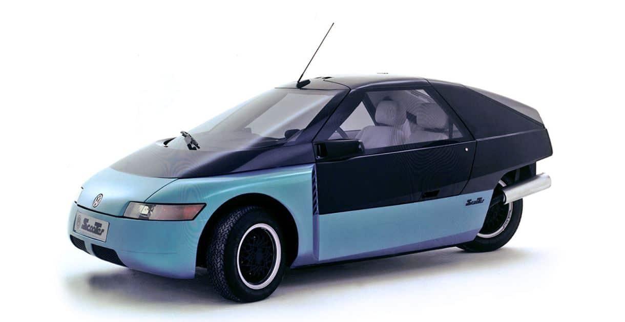 Scooter Volkswagen concept car
