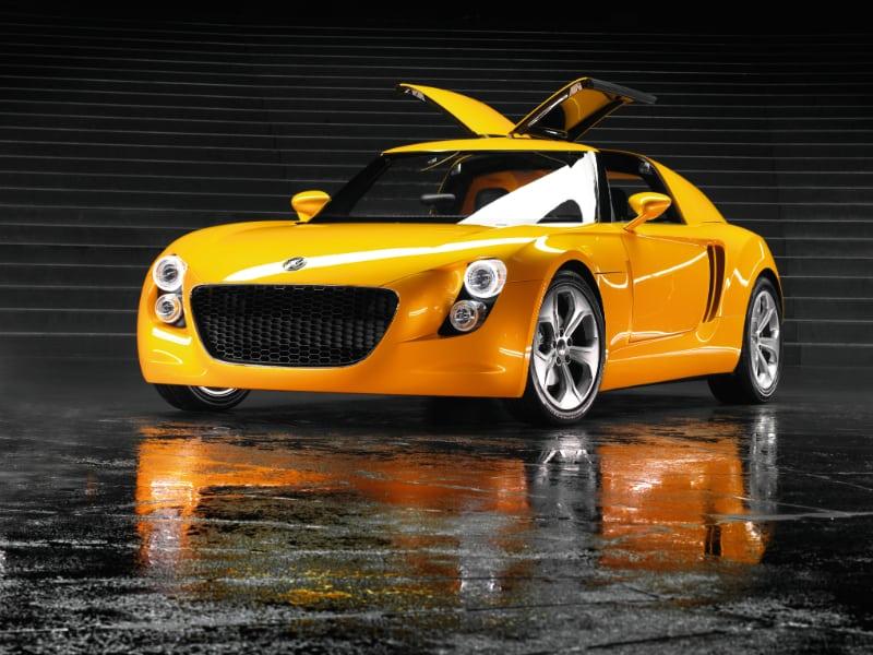 EcoRacer Volkswagen concept car