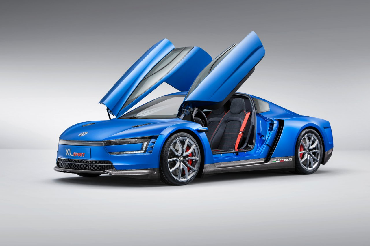 XL Sport Volkswagen concept car