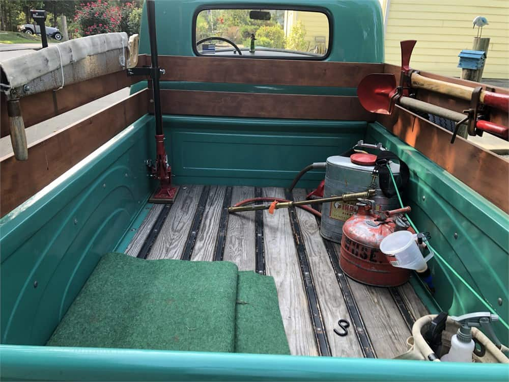 US Forestry Service 1954 Chevy 3100 bed