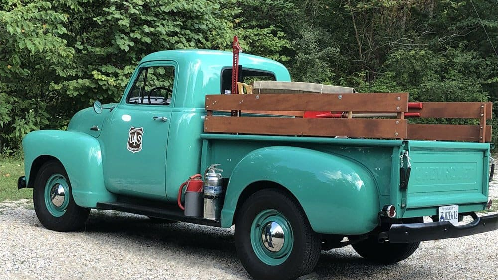 US Forestry Service 1954 Chevy 3100